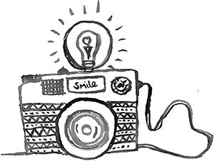 ayesha camera sketch