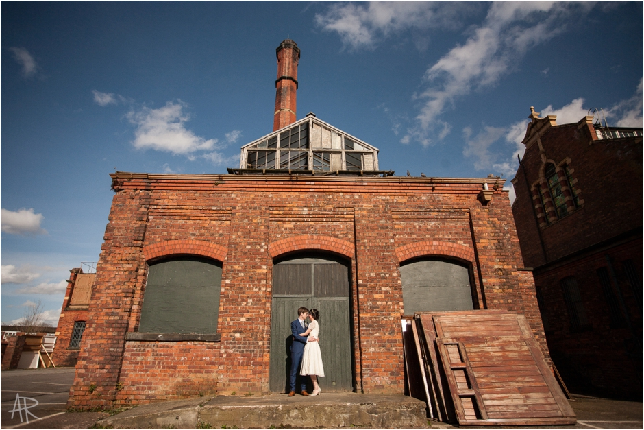 Victoria Baths Halle St Peters wedding photography