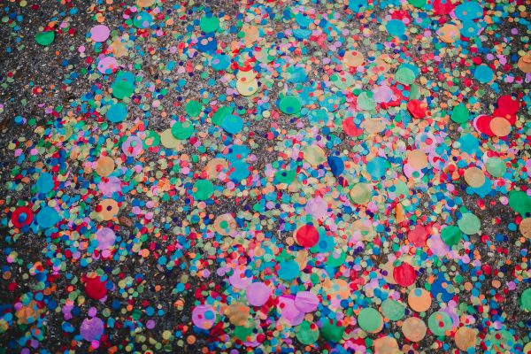 colourful confetti on the floor, loft studios wedding, loft studios wedding photography, loft studios wedding photographer, loft studios london, london wedding photographer, london wedding photography, urban london wedding, manchester wedding photographer, ayesha photography, humanist wedding in london, colourful wedding,